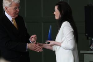 Forseti Íslands, hr. Ólafur Ragnar Grímsson, Tara Ösp Tjörvadóttir - Ljósmynd: Ásgeir Sigurðsson