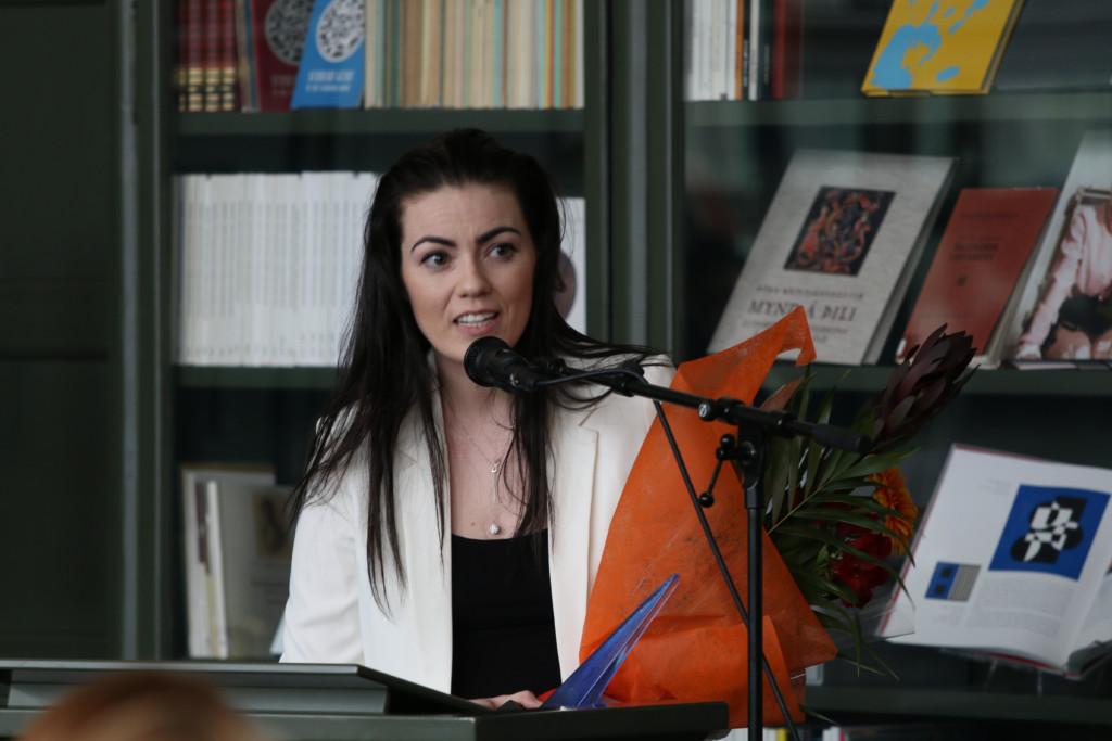 Framúrskarandi ungur Íslendingur árið 2016 - Tara Ösp Tjörvadóttir - Ljósmynd: Ásgeir Sigurðsson