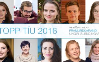 Framurskarandi ungir Íslendingar -Topp 10 hópurinn 2016