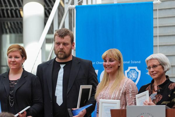 Framúrskarandi ungir Íslendingar 2013 - verðlaunaafhending