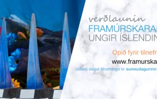 Opið fyrir tilnefningar til Framúrskarandi ungra Íslendinga